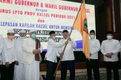Pelepasan Kafilah STQH Kalsel diawali dengan salat hajat